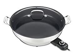 "Cuisinart Electric 14"" Nonstick Skillet"