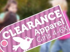 Apparel Clearance Girls (4-6X)