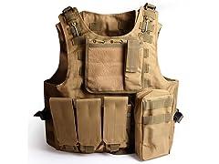 Tactical Molle Combat Vest