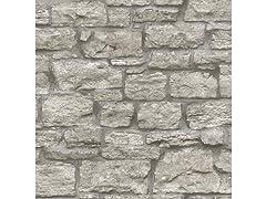 Saco Stone Peel & Stick Wallpaper