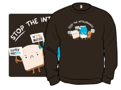 """Stop the Intolerance"" Crewneck Sweatshirt"
