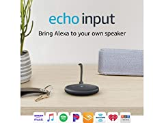Echo Input – Bring Alexa to your speaker