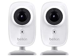 Belkin NetCam HD Wi-Fi Camera with Night Vision - 2pk
