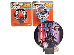 3-Pack of Star Wars Wall Night Lights
