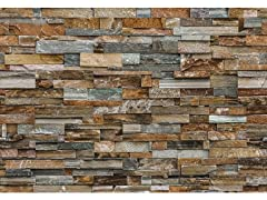 Colorful Stone Wall Wall Mural