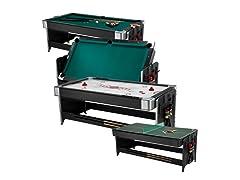 Fat Cat 3-in-1 7' Pockey w/ Table Tennis