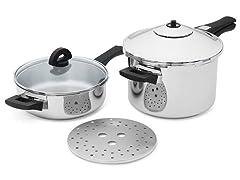 6-Pc. Pressure Cooker Set