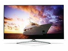 "Samsung 60"" 1080p 720 CMR 3D LED Smart TV"