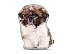 Shih Tzu Puppy Shaped Pillow