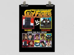 Ministry of Silly Fighters Matte Poster