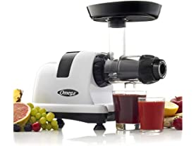 Omega J8006HDS Quiet Dual-Stage Slow Speed Masticating Juicer