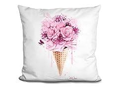 LiLiPi Brand Pillow - Ice Cream Bouquet