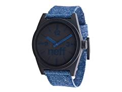 Neff Daily Woven Watch - Denim