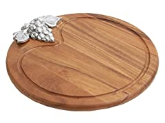 Woodard & Charles Round Serving Board