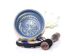 Silent Mind Tibetan Singing Bowl Set- Pick Style