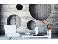 Geometric Background Wall Mural