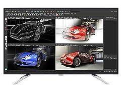 "Philips 42.5"" 4K Ultra HD LCD Display"
