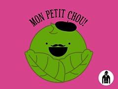 Mon Petit Chou Jersey Zip Hoodie