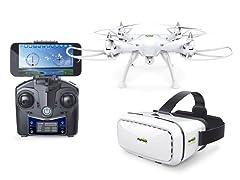 Promark P70 Drone w/ 3D VR Goggles
