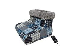 Thermee Micro Flannel Heated Foot Warmer