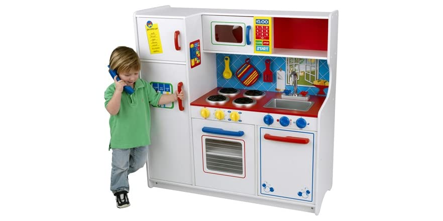 Kidkraft Deluxe Let 39 S Cook Kitchen Kids Toys