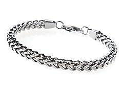 Stainless Steel Franco Link Bracelet