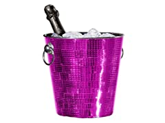 Oggi Champagne Bucket - Purple