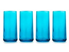 Zak Designs Adlele Azure Ice Tea Glasses (4)