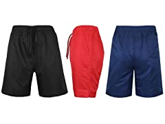 """3Pack Mens 7"""" Workout Training Shorts"""