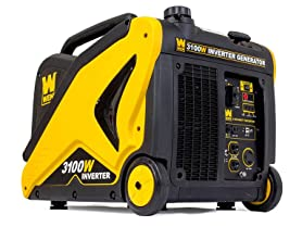 WEN 56310i Generator with Built-in Wheels