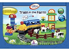 Train in the Farm Action Play Set