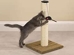 Meow Town™ Scratch N' Stow Cat Scratching Post