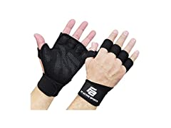 Ventilated Weight Lifting Gloves (XS, L)