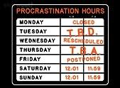 Procrastination Hours