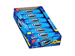 Nabisco Oreo Cookies, 2.4oz (Pack of 12)