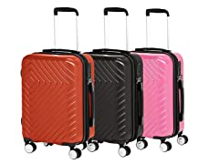 AmazonBasics Geometric Hardside Luggage