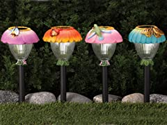 Westinghouse 4-piece Solar Pathlight Set