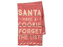 Primitives By Kathy Dish Towel - Forget The List