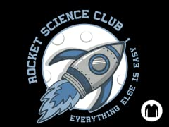 Rocket Science Club LS Tee