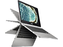 """ASUS 12.5"""" FHD Touch 2-in-1 Chromebook Flip"""