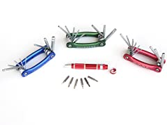 Folding Hex Key and Bit Set