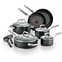 T-Fal C517SC64 Pro Grade Titanium 12-Pc. Nonstick Cookware Set