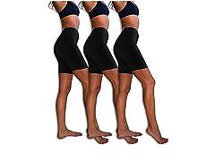 Sexy Basics Cotton Spandex Boyshort Yoga Bike Shorts