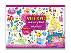 Disney Princess Sticker Activity Pad with Play Scenes