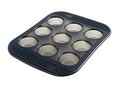 Mastrad Sililcone 9 Cup Muffin Pan