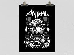 """""""Animal! Band"""" Poster"""