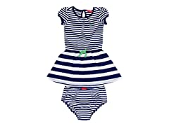 Navy Polo Dress (3M-4T)
