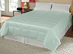 Silk Essence Comforter Turquoise - 2 Sizes