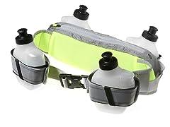 4 Bottle Waistpack -  Silver/Volt