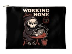 """""""Working From Home?"""" Accessory Pouch"""